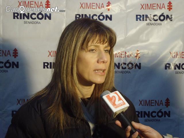 """Senadora Rincón respecto al bono Clase Media advierte """"desprolijidad e improvisación"""" del Gobierno"""