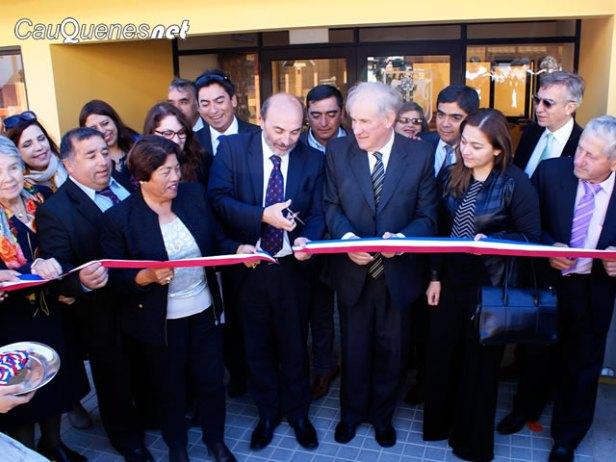 Biblioteca municipal de pelluhue inauguración 01-cqnet