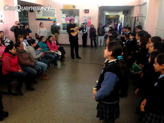 Escuela Barrio Estacion coros violeta hospital 01-cqnet