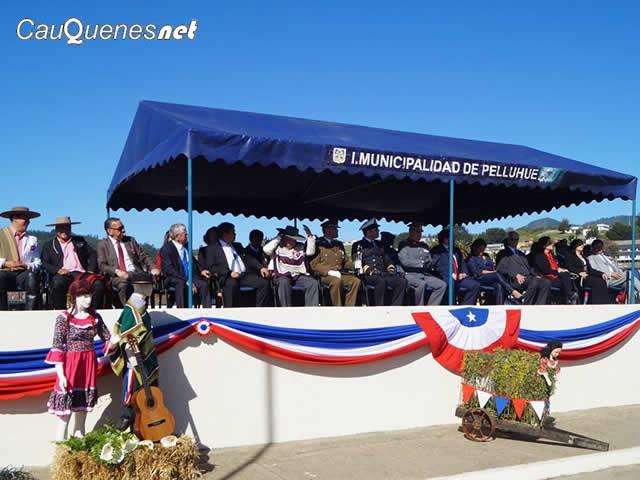 Pelluhue conmemoró los 207 años de Chile con una gran ceremonia