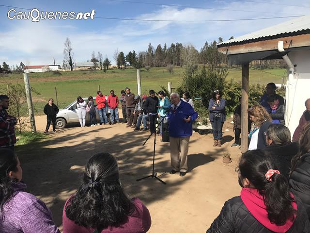 Sector rural de Las Margaritas recibió los operativos municipales de Cauquenes