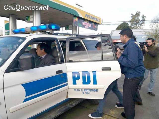 PDI detiene a sujeto que abvusaba de menor y tenia droga 11oct17 01-cqnet