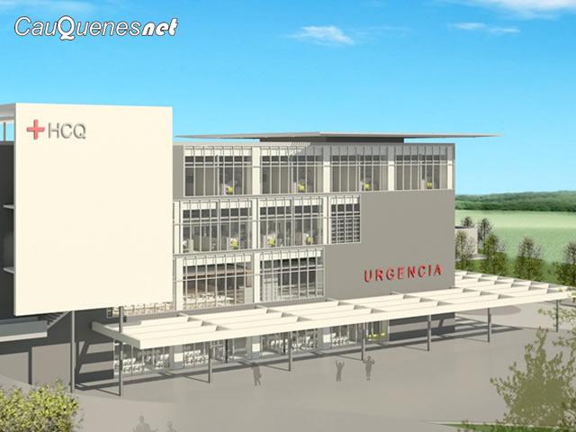 Hoy presentan la maqueta del nuevo Hospital de Cauquenes