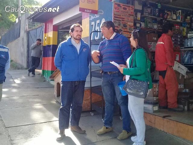 En Cauquenes el Serviu iniciará esperada reparación de veredas en el centro de la ciudad