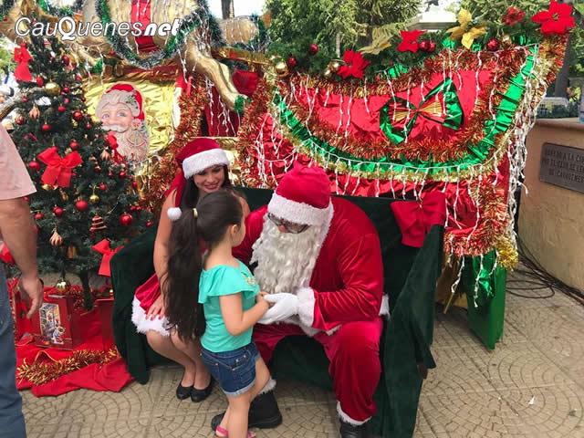 Este jueves Cauquenes realiza su gran fiesta de Navidad 2018