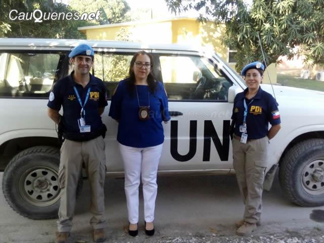 PDI Paulina Meza encargada de seguridad en balotaje Haiti 01-cqnet