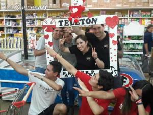 Punto Prat dono jugos a voluntarios teleton 02-cqnet