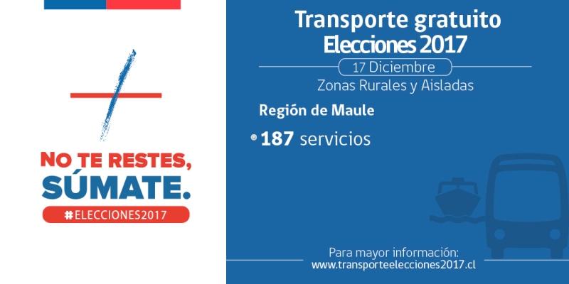 Transporte gratuito elecciones 02