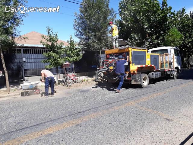 Arreglo de calles en cauquenes 01-cqnet