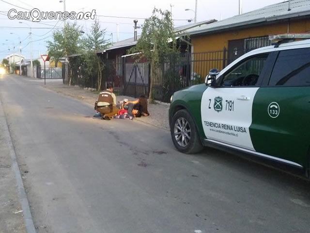Carabineros Parral victima ataque escopeta 1 de enero 01-cqnet