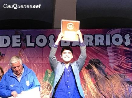 Festival de los barrios 2018 Nicolas Gonzalez ganador 01-cqnet