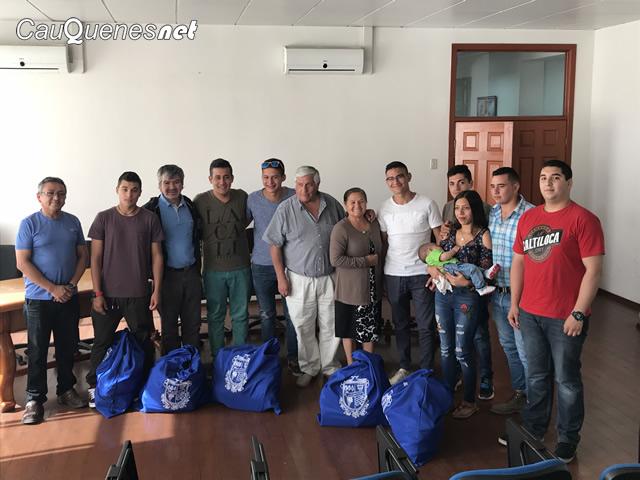 Jovenes postulantes a carabineros 2018 reciben implementacion 01-cqnet