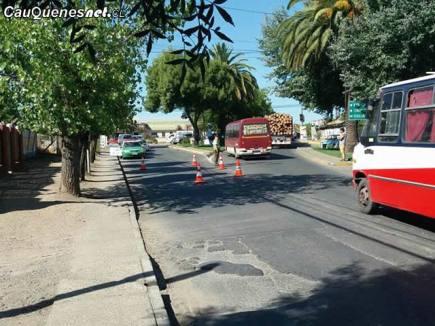 Carabinero es atropellado en barrio estacion 280218 02-cqnet
