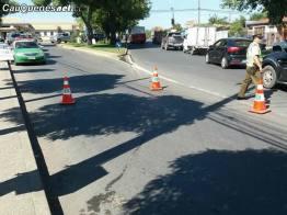 Carabinero es atropellado en barrio estacion 280218 03-cqnet