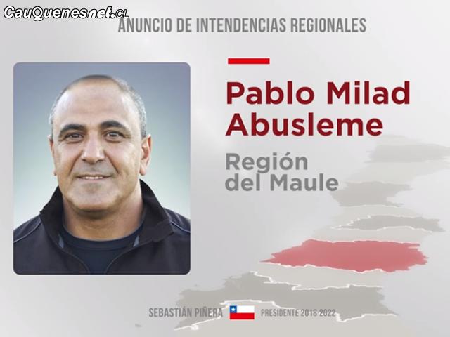 Intendente Pablo Milad Maule 2018 01-cqcl