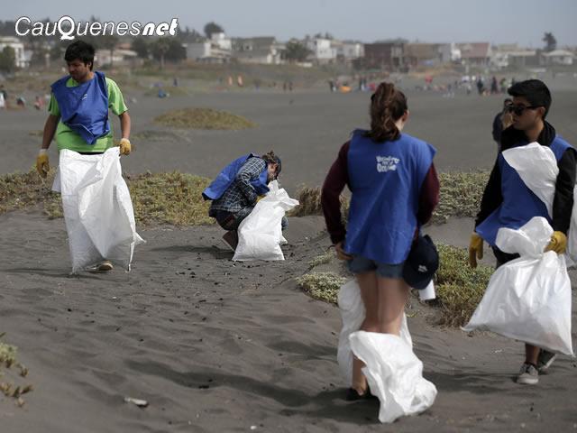 limpieza playas VPO 01-cqnet