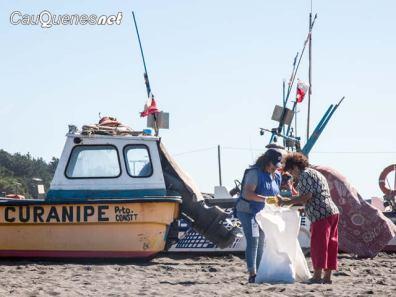 Limpieza playas VPO CURANIPE 01-cqnet