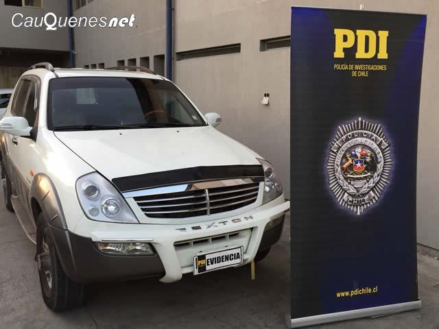 PDI recupera vehiculo en san javier 160218 01-cqnet