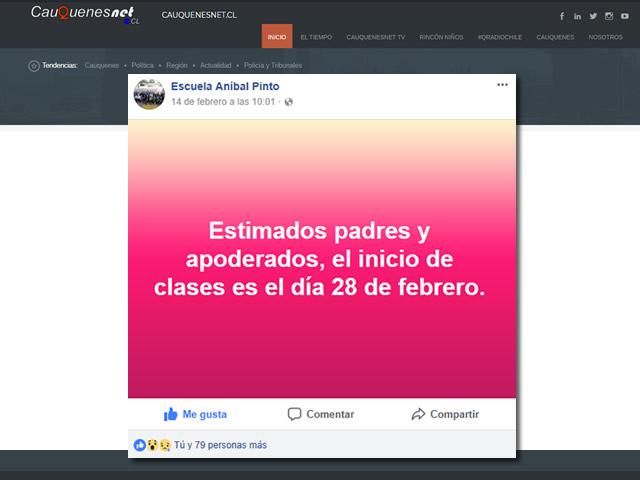 Vuelta a clases 2018 EAPinto 01-cqnet