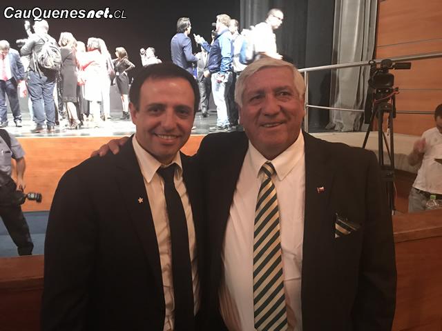 Alcalde muñoz y juan andres muñoz cambio mando regional 2018 01-cqcl