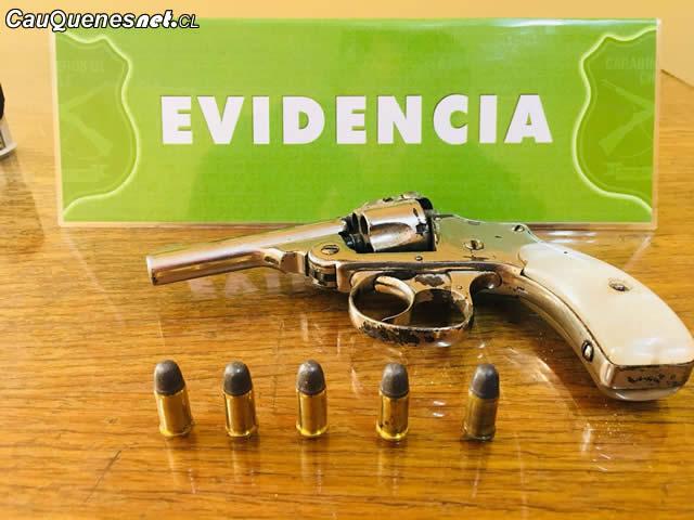 Carabineros requisa arma de fuego en cauquenes 130218 01-cqcl