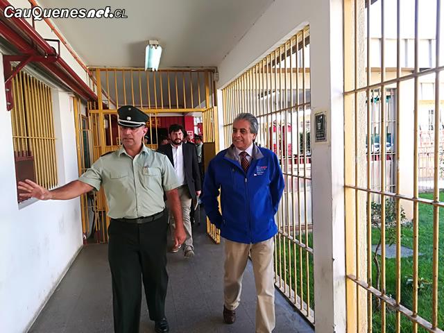 Gobernador Vignolo en ccp cauquenes 01-cqcl