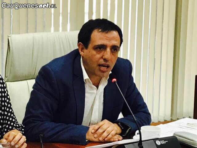 Juan Andrés Muñoz renunció a la presidencia del CORE Maule