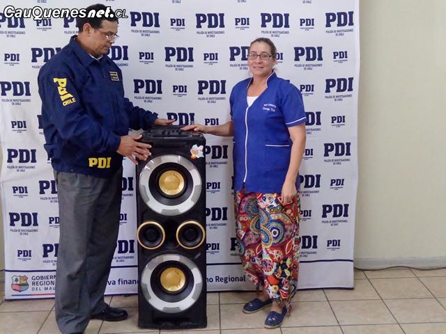 PDI recupero equipo robado en cauquenes 200318 01-cqcl