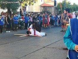 Via crucis Liceo Inmaculada Cauquenes 03-cqcl
