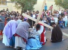 Via crucis Liceo Inmaculada Cauquenes 04-cqcl