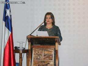 Alcaldesa Diaz cuenta pública Chanco 01-cqcl