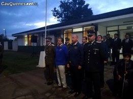 Aniversario 2018 n91 Carabineros de Chile Cauquenes izamiento bandera 04-cqcl