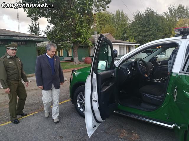 Carabineros cauquenes recibe moderno vehiculo policial 01-cqcl