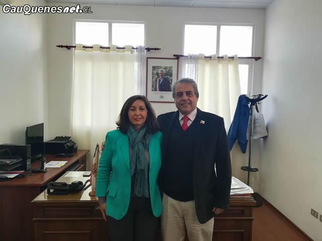 Directora provincial de educacion cauquenes Maria Eliana arellano 02-cqcl