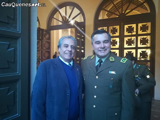 Aniversario de Carabineros: Gobernador de Cauquenes participa en Misa en Catedral de Talca