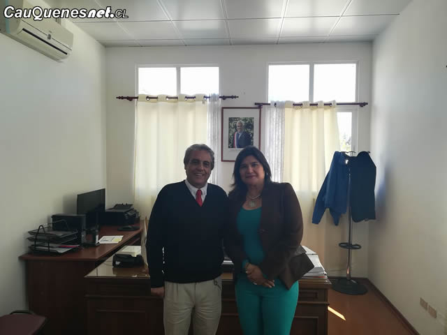 Gobernador Vignolo se reunió con Seremi del Trabajo de la Región del Maule