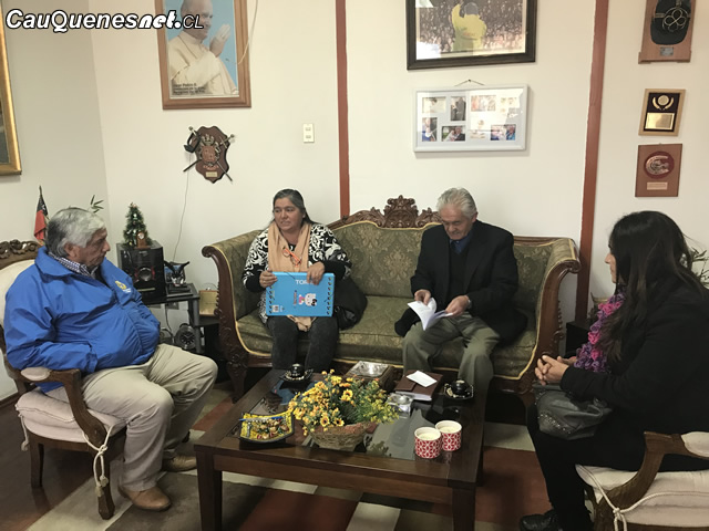 Vecinos de Pobl. Fernández solicitaron apoyo a municipio de Cauquenes para concretar conjunto habitacional