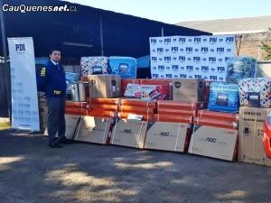 PDI recupera articulos electronicos robados 250418 01-cqcl