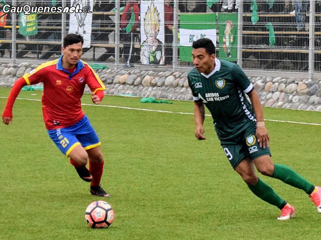 Independiente de Cauquenes no logra despegar en el campeonato de Segunda División