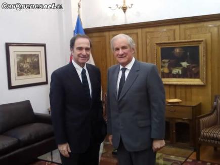 Diputado Matta y ministro Hernan Larrain 01-cqcl