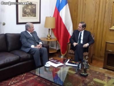Diputado Matta y ministro Hernan Larrain 02-cqcl