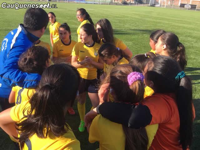 En Cauquenes se define el fútbol escolar sub 14