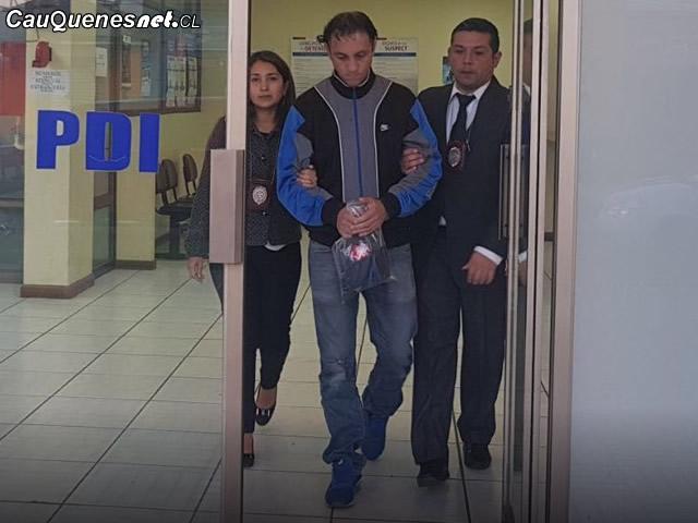 PDI detuvo sujeto que violo a joven discapacitado 010518 01-cqcl