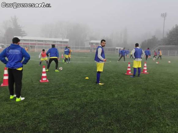 CD Independiente entrena para copa chile 2da fecha 01-cqcl