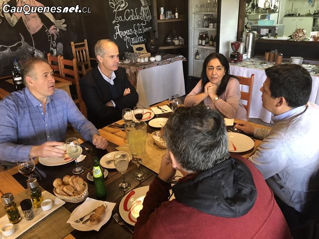 Senador Galilea compromete esfuerzos para impulsar desarrollo del turismo en el Maule