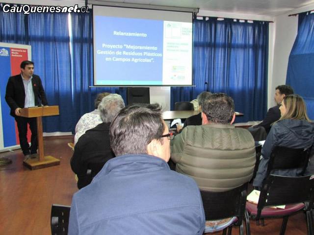 Proyecto de mejoramiento de gestión de residuos plásticos beneficiará Agricultores de zona rezagada
