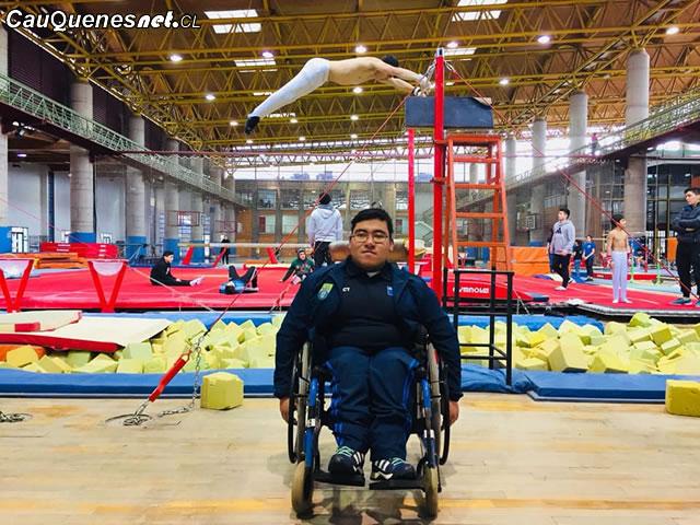 Alumno discapacitado del LAV destacado en atletismo 01-cqcl