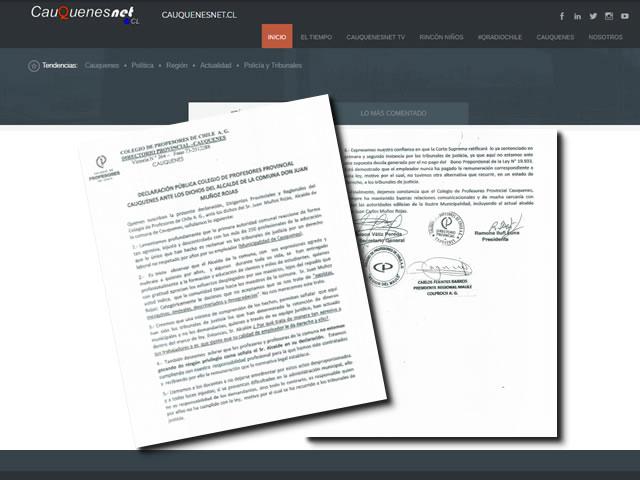 Declaracion publica colproch Cauquenes 01-cqnet