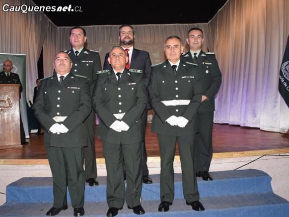 Gendarmeria Cauquenes director reginal y gobernador y jefe unidad cauquenes y suboficiales mayores 01-cqc