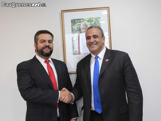Gobernandor Ruiz con Intendente Milad 01-cqcl